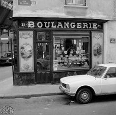 Boulangerie ancienne, rue de Poitou. Paris. 1979.