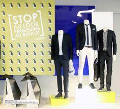 #stop au  #look  #pingouins au  #boulot  #jean #julesangerscv #jules.com