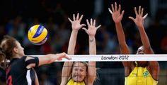 No voleibol feminino, Brasil vira e vence a seleção da Turquia