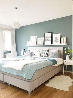Good Information : Best Bedroom Colors Psychology best bedrooms colors, best bathrooms colors, cozy colors bedroom, best bedroom paint, best master bedroom color Bedroom Inspirations, Home Bedroom, Bedroom Interior, Rustic Bedroom, Bedroom Decor, Bedroom Green, Awesome Bedrooms, Home Decor, Bedroom Colors