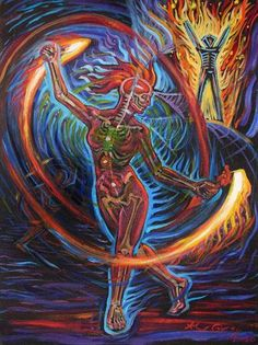 Alex Grey - Firedancer