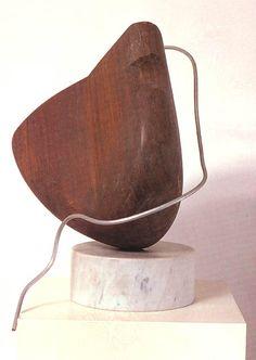 1928-Isamu Noguchi-Paris Red Seed