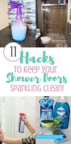 11 Ways To Keep Your Shower Doors Clean