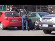 Zatrzymanie Janusza P. i Marcina L. przez CBŚP (video: CBŚP)