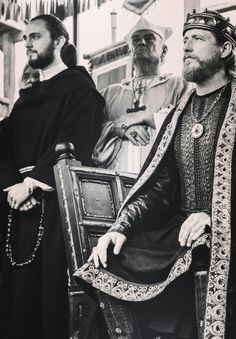 Athelstan and King Ecbert of Wessex - The Vikings.