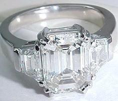 Emerald Cut Ring... Divine <3