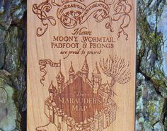 Marauder's Map iPhone 6/6 5/5s/5c 4/4s Samsung by TheLasersEdge