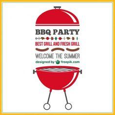 Barbecue Party Ideas Buscar Con Google Bbq Cartoons - Backyard bbq party cartoon