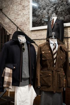 """thearmoury: """" Private White VC - now available at The Armoury NYC. Classic British sportswear, made in Manchester """""""