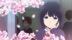 Hanabi Yasuraoka - Kuzu no Honkai Japanese Animated Movies, Japanese Cartoon, Shinigami, Romance Anime Recommendations, Kuzu No Honkai Hanabi, Scums Wish, Otaku, Good Anime Series, My Love Story