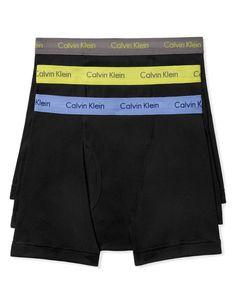 Calvin Klein Classic Boxer Briefs, Pack of 3