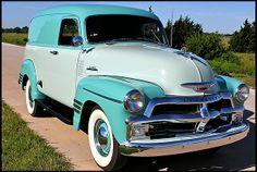 1954 Chevrolet Deluxe Panel Truck #Mecum #KansasCity