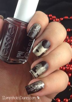 Essie Chocolate cakes, good as gold and Bundle Monster Stamping
