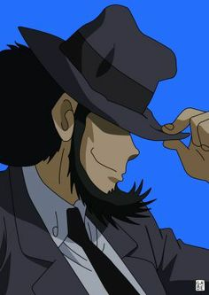 Jigen Comic Book Superheroes, Comic Books, Lupin The Third, Doodle Lettering, Magic Kaito, Cowboy Bebop, Detective, Anime Characters, Manga Anime