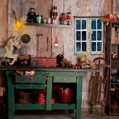 Santa's Workshop and Project Share This is the new background that we will be…