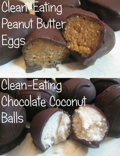 Clean-eating takes on some yummy candy. Pinned by #PinkPad, the women's health app. pinkp.ad #cleaneating