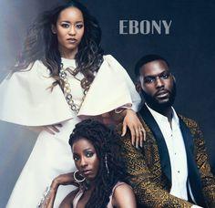 Dawn-Lyen Gardner, Rutina Wesley and Kofi Soriboe for EBONY. Photo Credit: Aaron Smith
