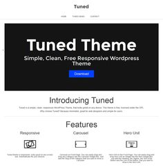 This free responsive WordPress business theme features a minimal design, RTL language support, a custom header, widget boxes, and menus, and more.