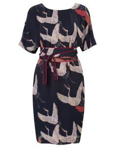 Kimono jurk met cein