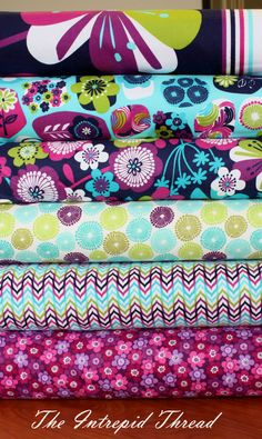 Awesome Punch Garden Flannel By Pink Light Design
