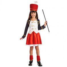 Disfraz de Majorette Soldado para niña #disfraces #carnaval #novedades2017