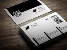Check out Creative Corporate Business Card by bouncy on Creative Market