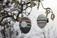 Polly kreativ: Eieiei - gehäkelte Ostereier