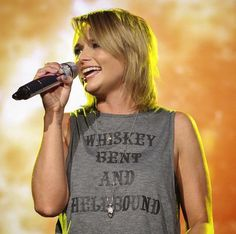 As Seen On – License to Boot Miranda Lambert in License to Boot.  Whiskey Bent and Hellbound Tank.  Country Concert. www.licensetoboot.com