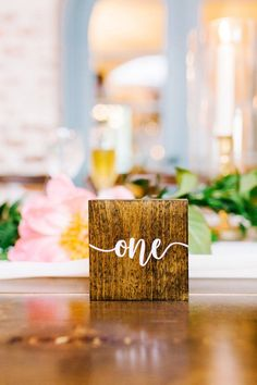 Wooden, Painted Table Numbers // Romantic Pink, Coral & Gold Florida Wedding via TheELD.com Cheap Wedding Photographers, Whimsical Wedding Inspiration, Coral Charm Peony, Wedding Designs, Wedding Ideas, Spring Color Palette, Dusty Rose Wedding, Floral Backdrop, Coral And Gold