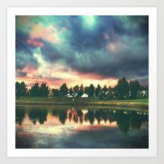 skies. Art Print by @mattfrench