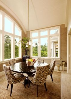 """2012 Street of Dreams (""""Montauk"""") - traditional - dining room - portland - The WhiteHouse Collection"""