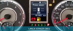 Lancia Voyager instrument cluster (speedometer / tacho) programming by OBD2 with Enigmatool. Read/Write eeprom function possible + change mileage KM+motohours