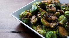 Umami-bombed Brussel sprouts. #healthy #noms