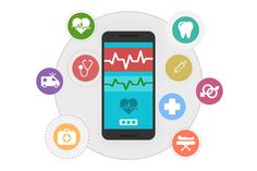 Statistics showing latest trends of usage & benefits of mobile technology in healthcare industry - Rigel Networks