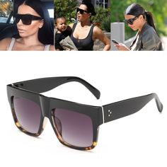 669a9b4f53d Luxury Brand Designer Kim Kardashian Fat Top Sunglasses Women Retro Shades  Sun Glasses for Men Gafas Oculos De Sol Feminino M092