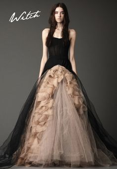 so beautiful! witch gown