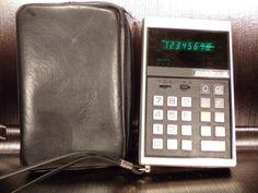Calculatrice-calculator-DELTEK-1970-70s-vintage