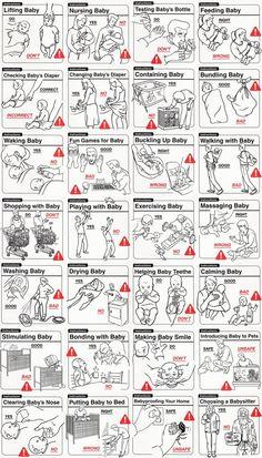 Safe Baby Handling Tips by David & Kelly Sopp.