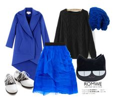 """""""Blue Tulle"""" by emilychieng ❤ liked on Polyvore featuring Spacecraft, Antonio Berardi, NOIR Sachin + Babi and Pinup Couture"""
