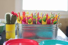 Mexican Fiesta Bridal/Wedding Shower Party Ideas | Photo 6 of 28 | Catch My Party
