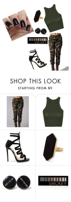 """""""Camo"""" by dessygirl0301 ❤ liked on Polyvore featuring Topshop, Jimmy Choo, Jaeger and Forever 21"""