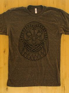 Awesome owl tee by DKNG
