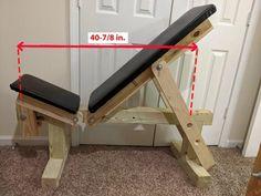 Home Gym Bench, Diy Home Gym, Adjustable Workout Bench, Backyard Gym, Yoga Props, Diy Welding, Outdoor Gym, Gym Design, Diy Bench