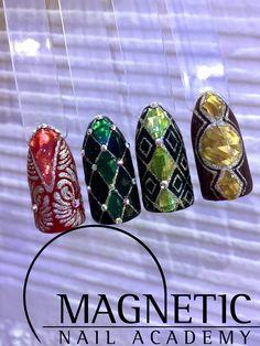 Magnetic Nail, Maga Nails, Nail Art