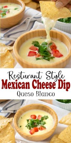 This is the Best Mexican Cheese Dip recipe! With just 3 ingredients, this is the.,This is the Best Mexican Cheese Dip recipe! With just 3 ingredients, this is the authentic queso blanco dip recipe that you get at Mexican restaurants. Authentic Mexican Recipes, Mexican Food Recipes, Yummy Recipes, Cooking Recipes, Best Dip Recipes, Italian Dinner Recipes, Cooking Tips, Keto Recipes, Appetizer Recipes
