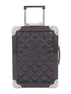 Chanel 2016 Airline Trolley Minaudière Bag