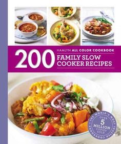 Requiring only minimal preparation, a slow cooker will cook your ingredients throughout the day or overnight, producing a delicious meal that will be ready to eat as soon as you are. 200 Family Slow C