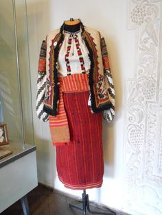 Local fashion: Traditional costume of Ukraine