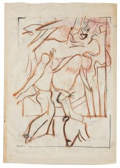 kooning, willem de untitled (wo ||| abstract ||| sotheby's n10070lot8wsgyen