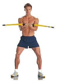 Body Blade- Great for Core and Shoulders